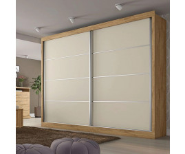 Guarda Roupa Flex 2 Portas e 4 Gavetas Verona Plus– Made Marcs